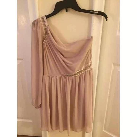 ASOS Dresses & Skirts - ASOS Pink One Shoulder Dress